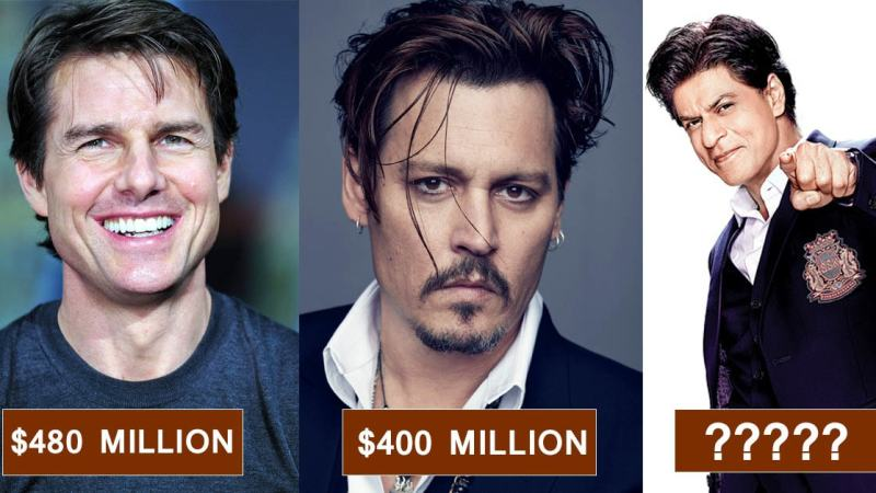 World Richest Actors of Modern Times, Some of Which Turned Out to Be Dark Horses