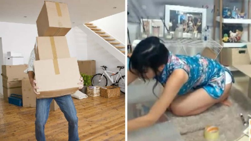 Man Hires Female Escort For Two Hours To Help Him Move House