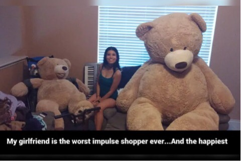 Hilarious Girlfriends Who Really Know How To Surprise Their Significant Other In The Best-Worst Way Possible