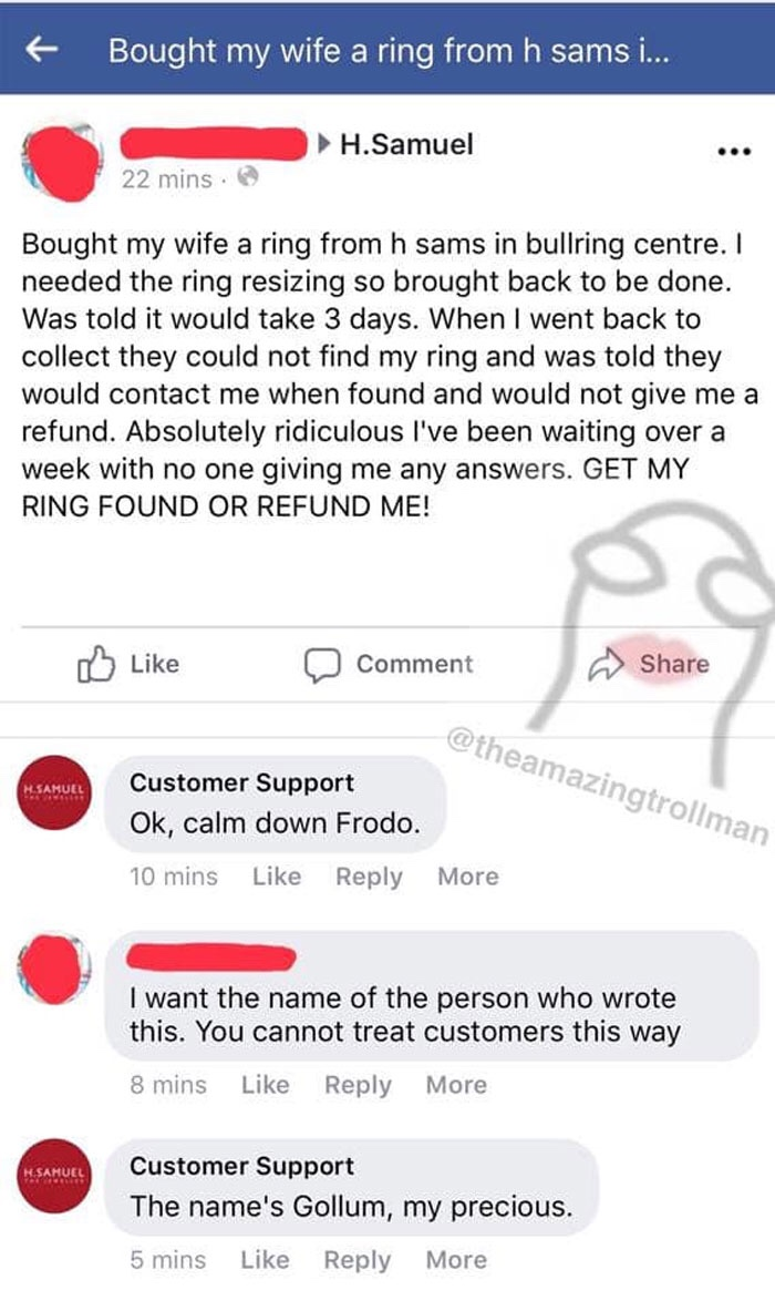 25+ Hilarious Times This Guy With A Name 'Customer Support' Trolled Clueless Customers
