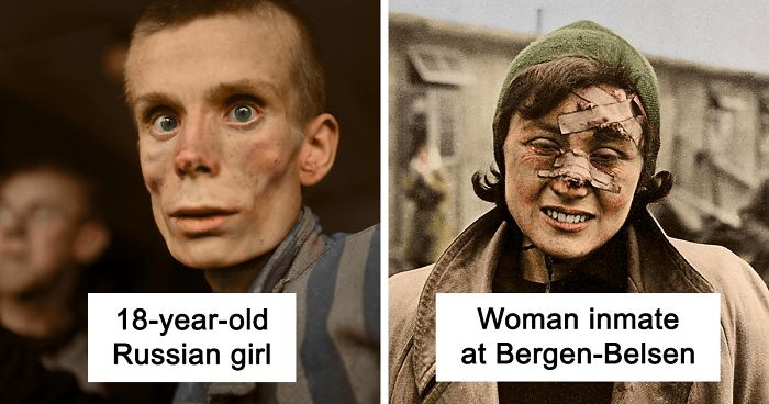 These Colourised Photographs Show The Genuine Frightfulness Of The Holocaust