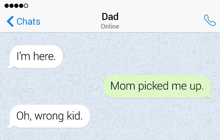 People Who Mistakenly Texted Their Parents And Will Never, Ever Live It Down