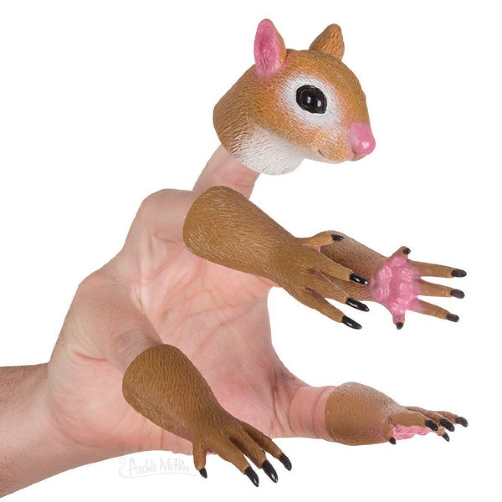 hand-squirrel