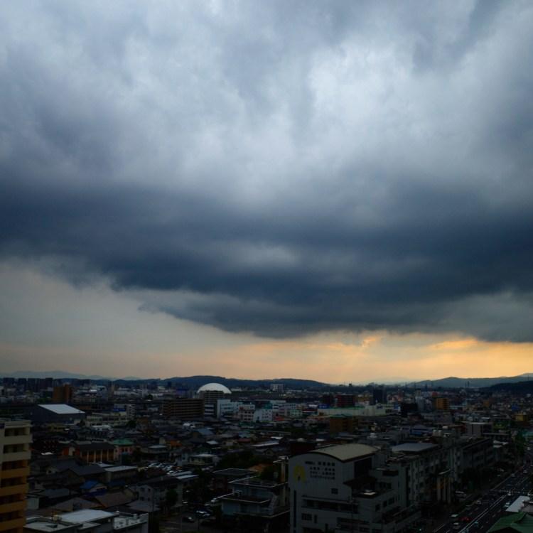 雨、夕立、雨雲