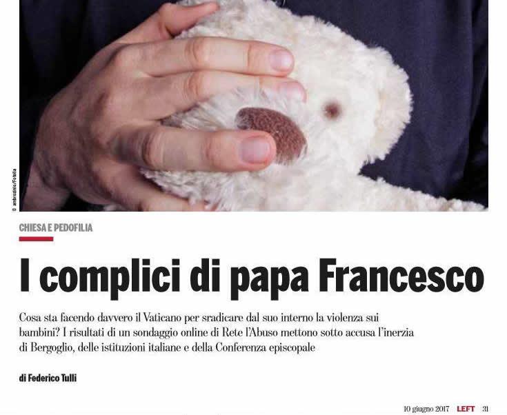 I complici di papa Francesco