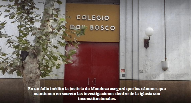 ARGENTINA; Dichiarato incostituzionale che la chiesa mantenga il segreto sugli abusi