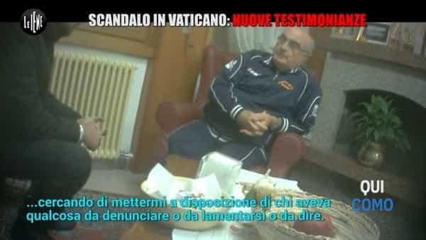 Le Iene e il vescovo Coletti | Le accuse di avere insabbiato abusi sessuali in Vaticano