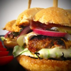 INSANITY BURGER – HOME MADE – A LA JAMIE OLIVER