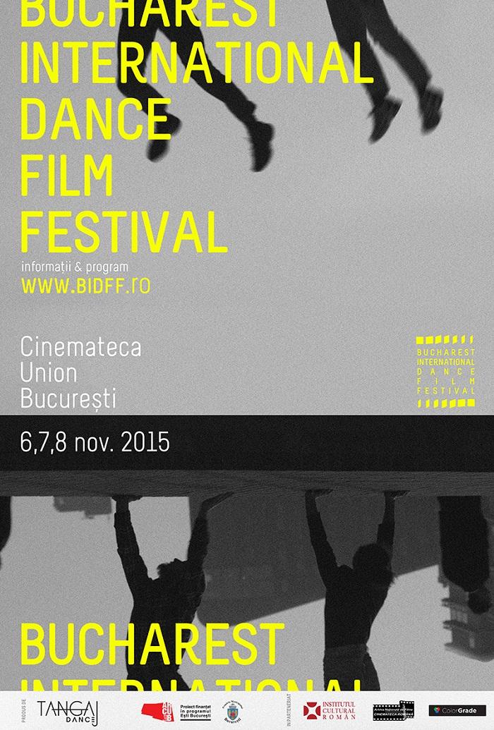 POSTER BIDFF - festival de dans bucuresti