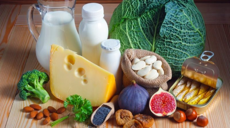 Calciu — Simptomele Si cauzele lipsei de Calciu, Lista alimente cu Calciu