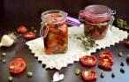 Roșii deshidratate în ulei de măsline