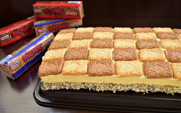Prăjitura Picnic sau Prăjitura Tosca