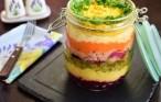 Rețetă de Salată Mimoza la borcan