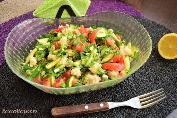 Rețetă de Salată tabbouleh cu quinoa albă