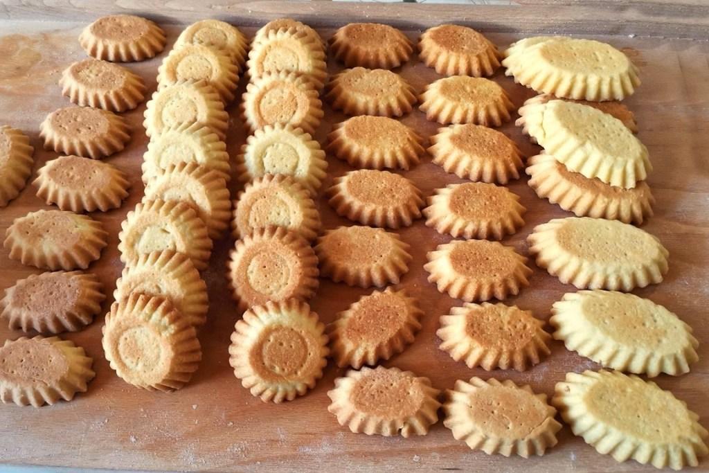 Coșulețe de mini tarte coapte