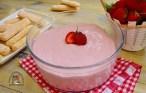 Cremă de căpșuni cu lapte condensat și mascarpone