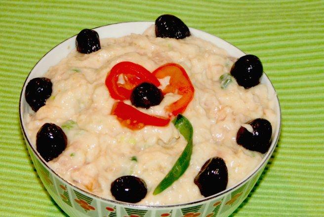 Salata de icre de somon
