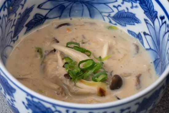 Supa crema de ciuperci cu legume