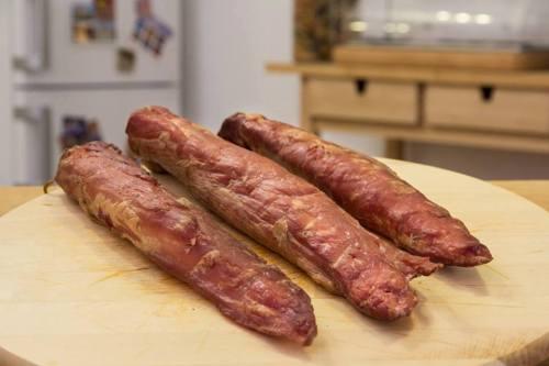 Afumare muschi de porc cu boia