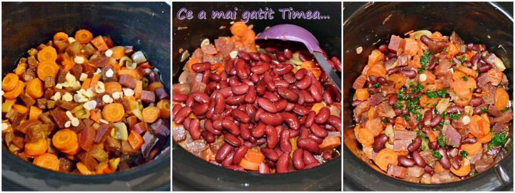 mod de preparare mancare de sfecla cu legume la Crock Pot 1