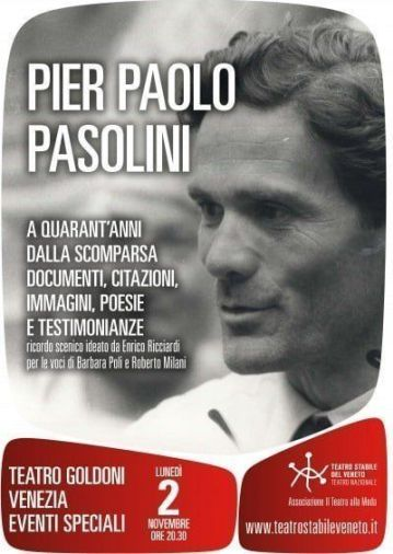 PASOLINI_locandina Goldoni 2 nov 2015