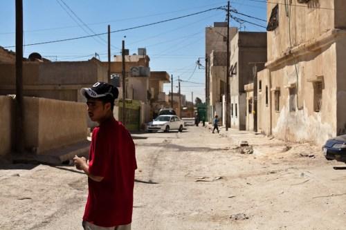 Talbieh Palestinian Refugee Camp in Jordan