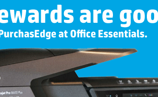 HP Purchasedge rewards program at Office Essentials