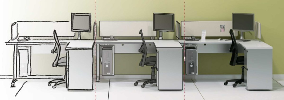 Office furniture at Office Essentials in St. Louis and Across the Midwest