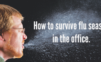 How to survive flu season in the office