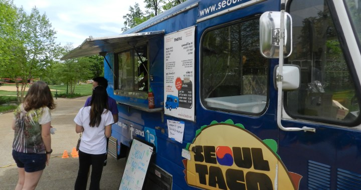 The Seoul Taco food truck will be at Office Essentials' St. Louis location on September 2.