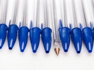 Bic pen caps