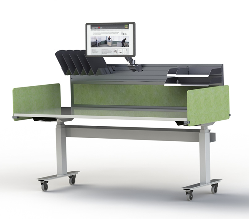 swiftspace mobile office furniture at office essentials in st. louis