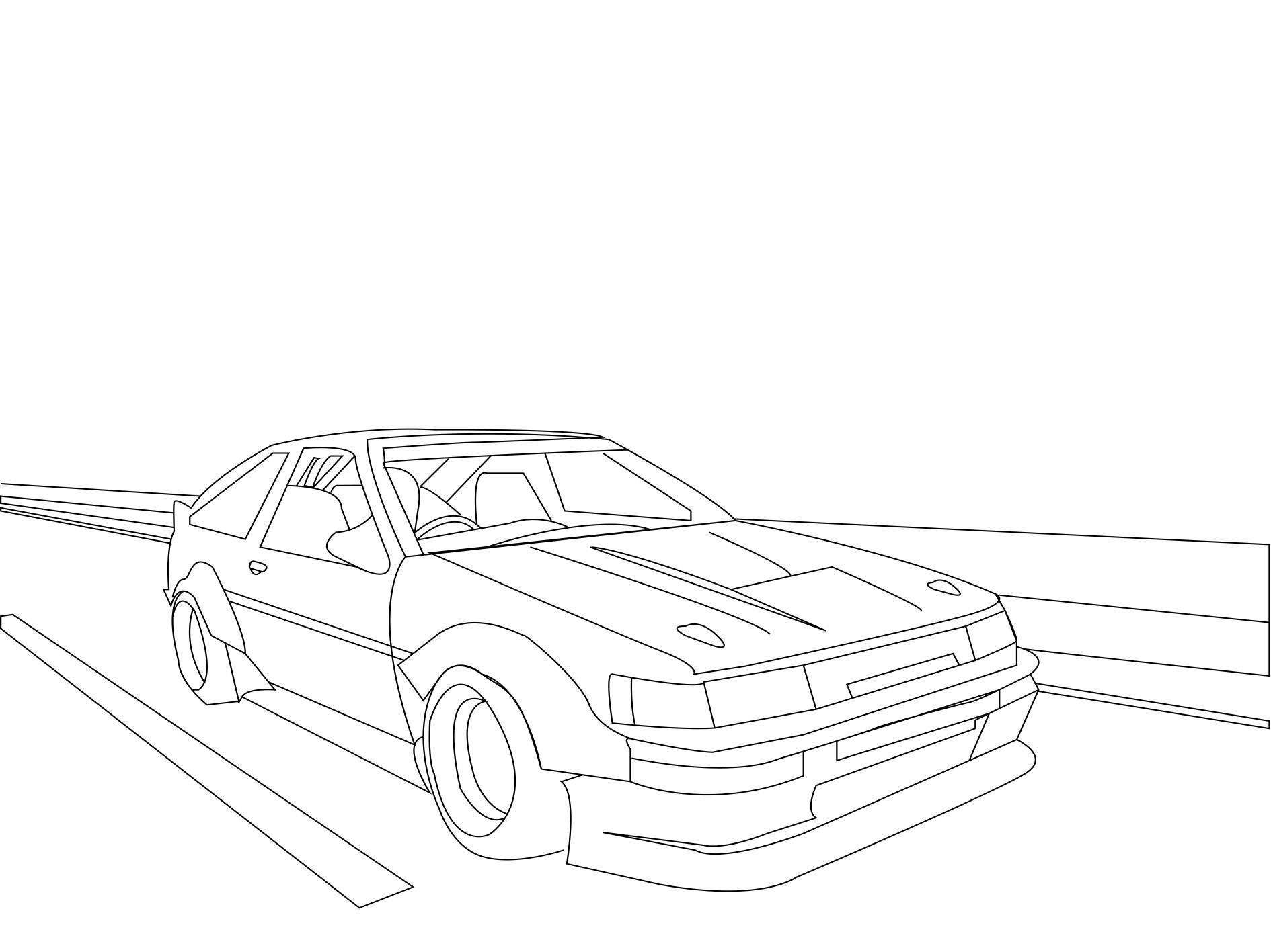 1986 Toyota Corolla Levin/Sprinter Trueno- AE86
