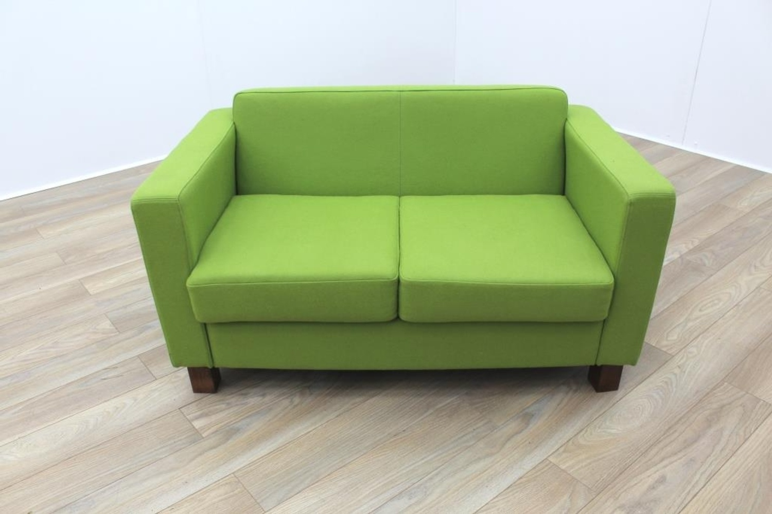 lime sofa uk craigslist sectional vancouver green fabric funky office reception ebay