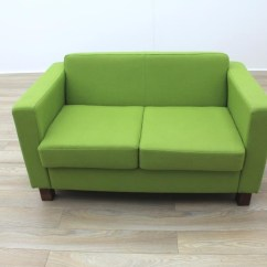 Lime Sofa Uk Ikea Beds Perth Green Fabric Funky Office Reception Ebay