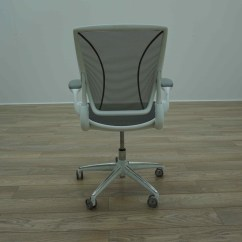 Different World Chair Spa Chairs Wholesale Humanscale Diffrient White Grey Mesh Office Task