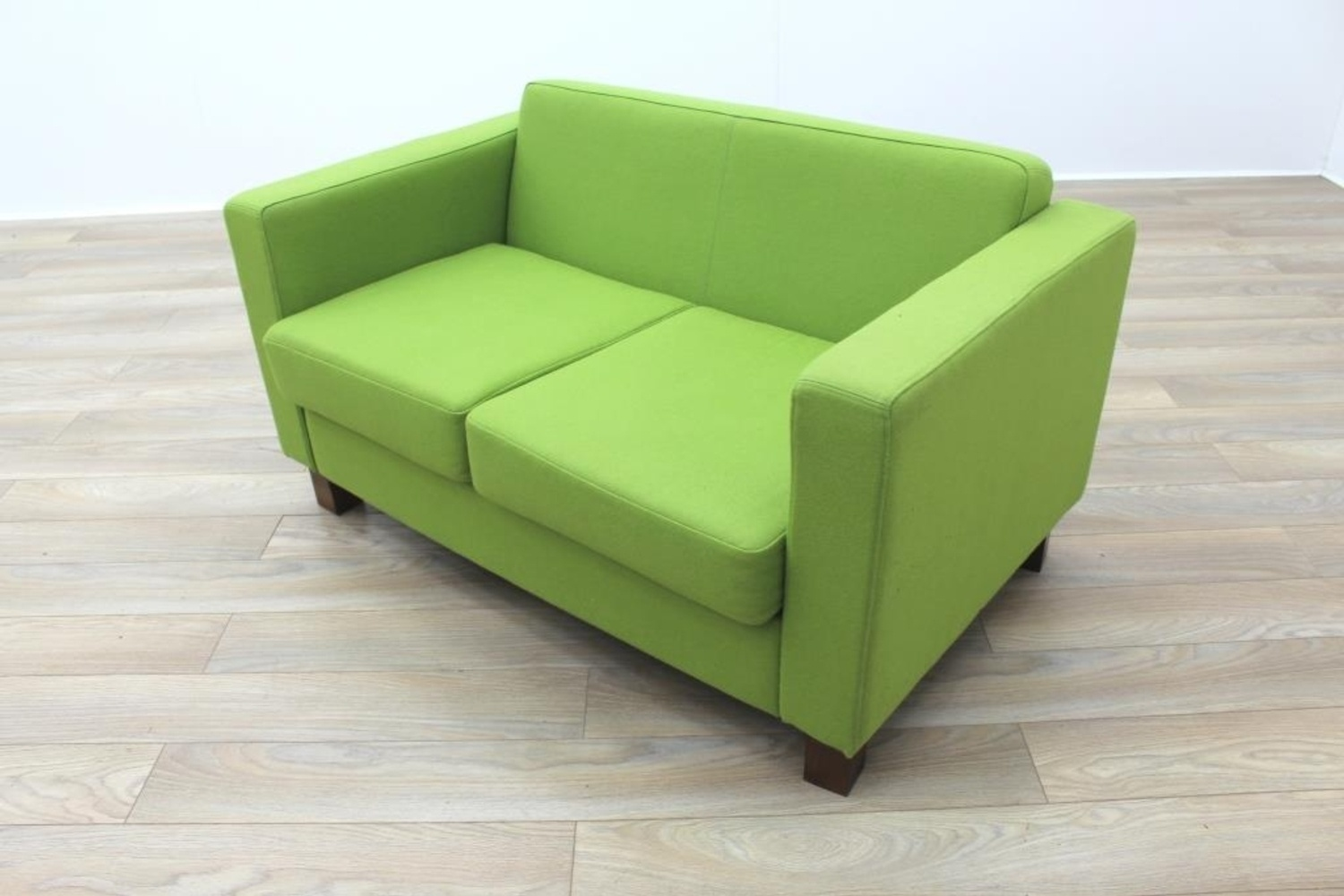 lime sofa uk blue cover online green fabric funky office reception ebay