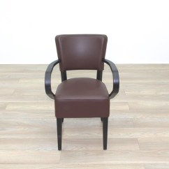 Quality Leather Dining Chairs Wwe Ppv Chair Collection New Brown Walnut Back Contract