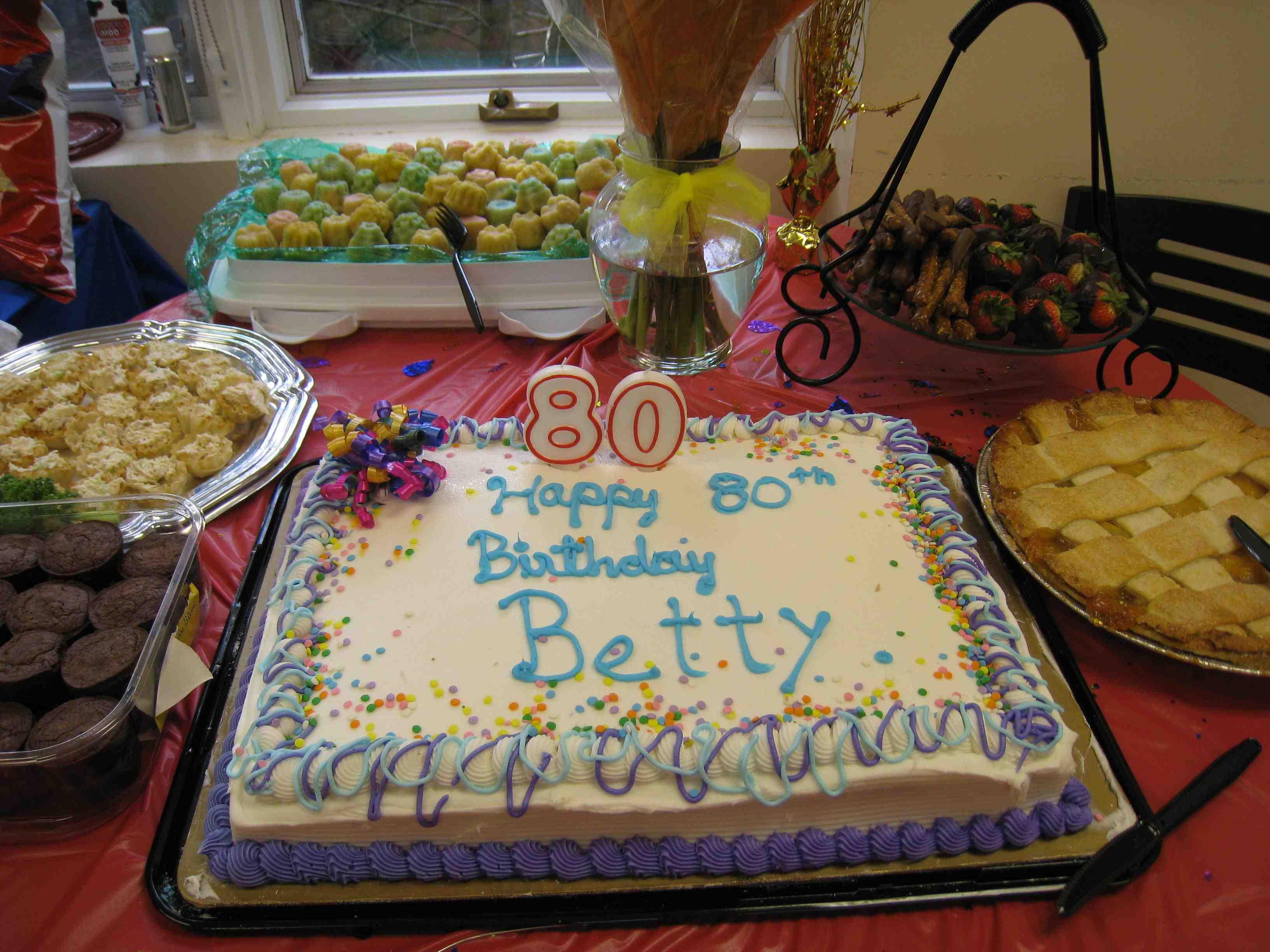 Happy Birthday Betty