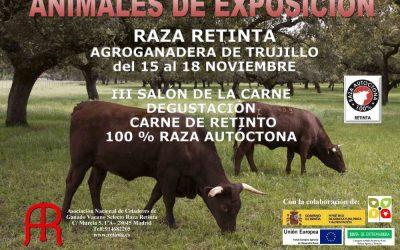Cartel de la Feria Agroganadera de Trujillo 2018