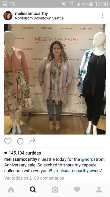 Melissa divando no lançamento da nova coleção de sua marca, Seven7. A cada dia adoro ela mais e mais! <span style=