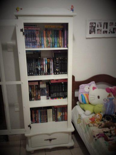 livros estante