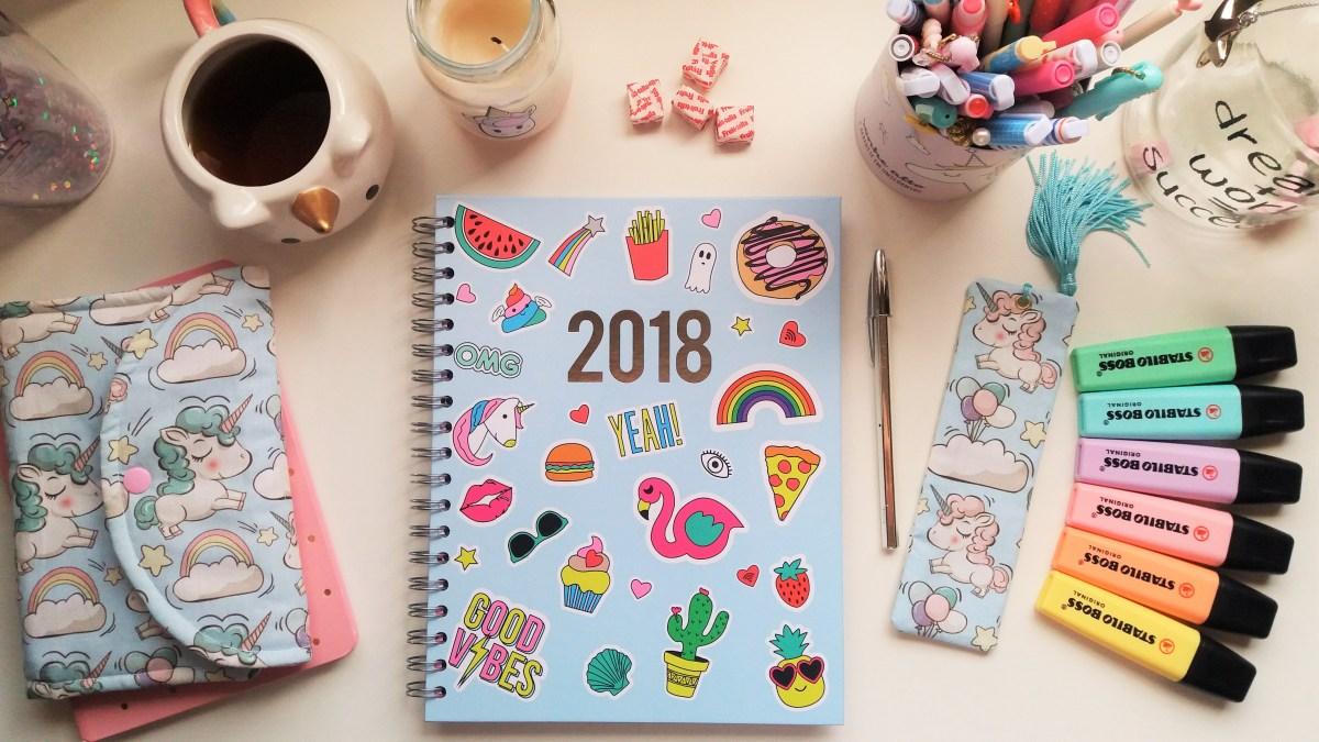 Organização 2018 & Planner Literário (Freebie)