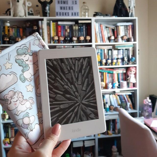 Motivos para ter um e-reader: amazon kindle paperwhite