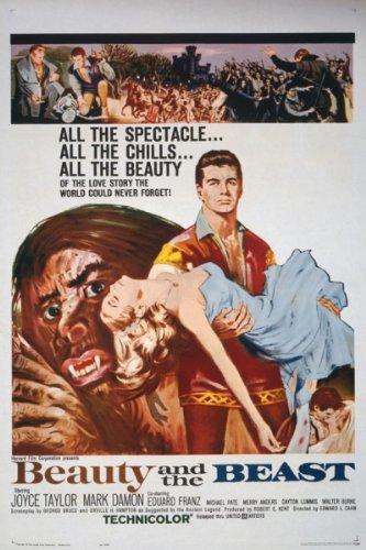 1962 A Bela e a Fera de Edward L. Cahn