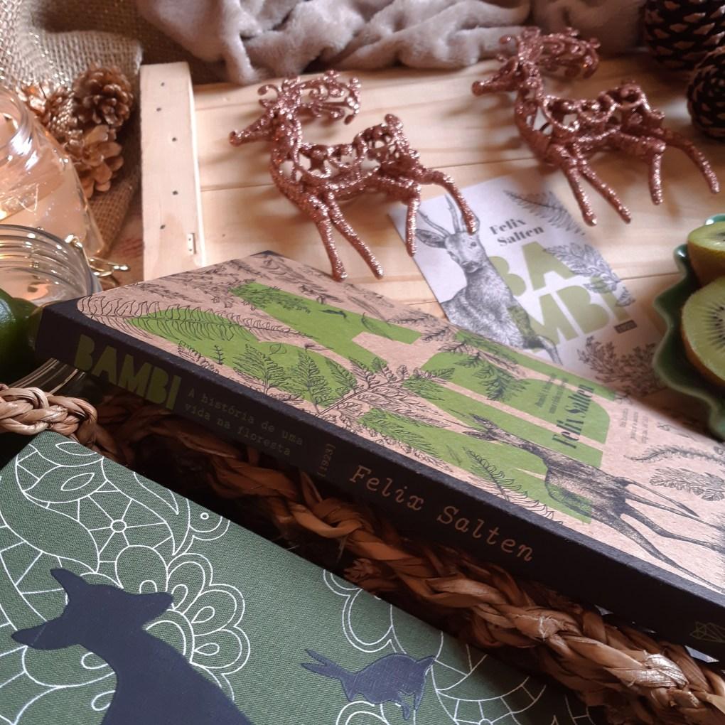 Resenha de Bambi, de Felix Salten, publicado em edição ecológica pela Editora Wish em 2019.