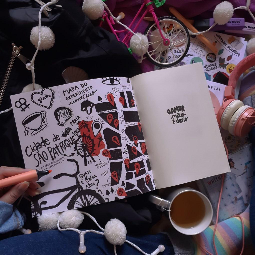 Resenha de O Amor não é Óbvio de Elayne Baeta publicado pela Galera Record.