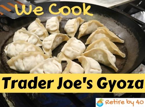 Trader Joe's gyoza