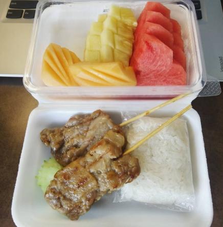 quarantine snack Thai food