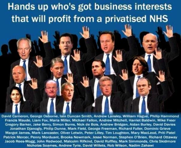 The NHS is safe in our hands